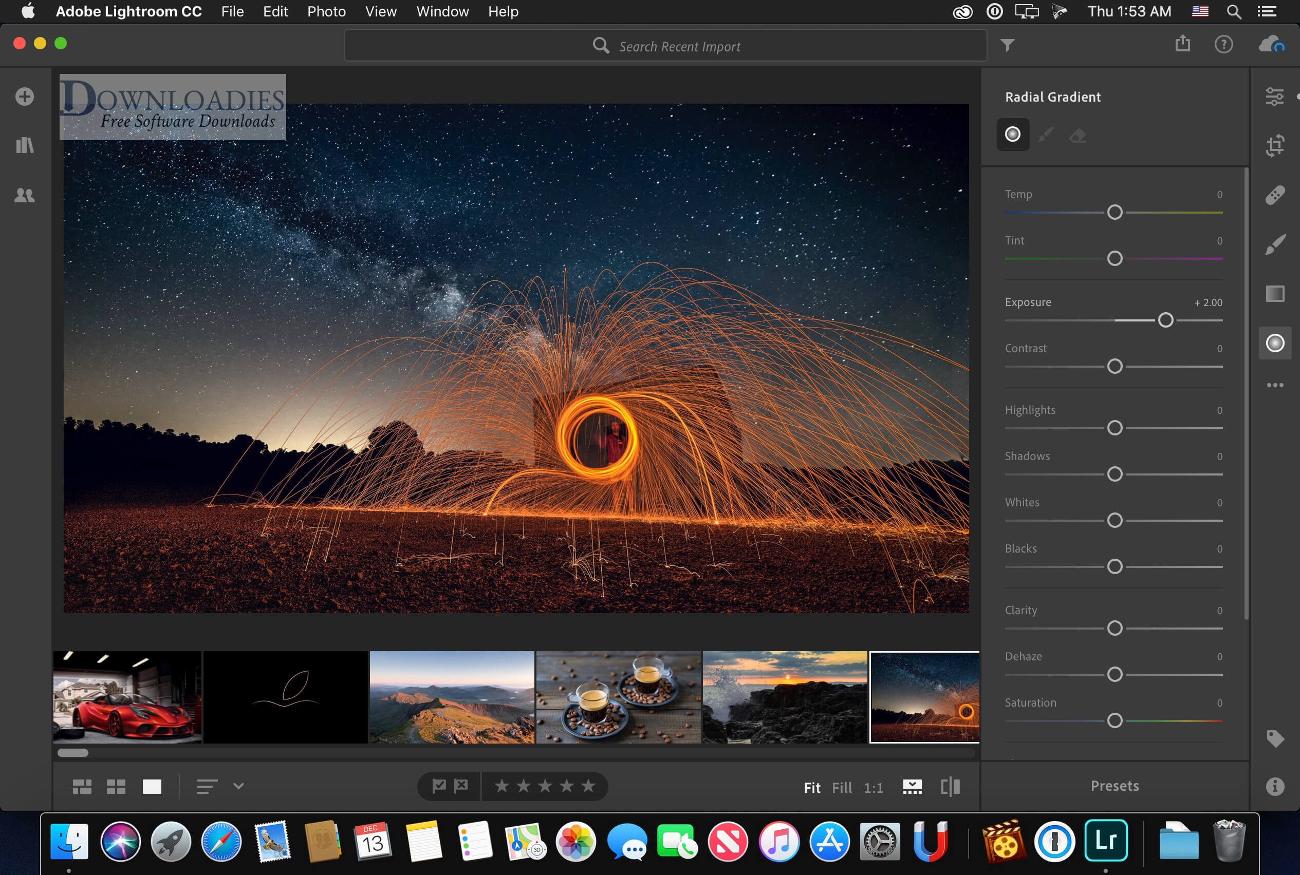 Adobe Photoshop Lightroom CC 2.3 for Mac free download free