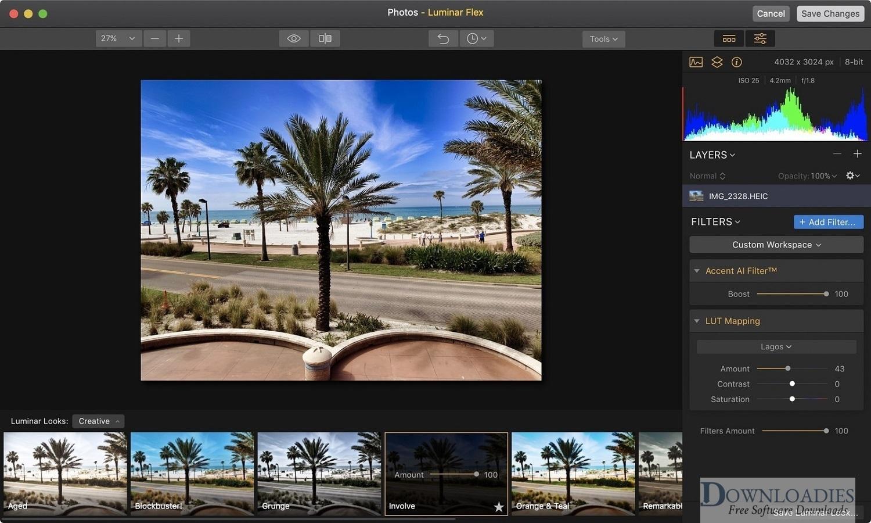 Luminar Flex for Mac free download mac