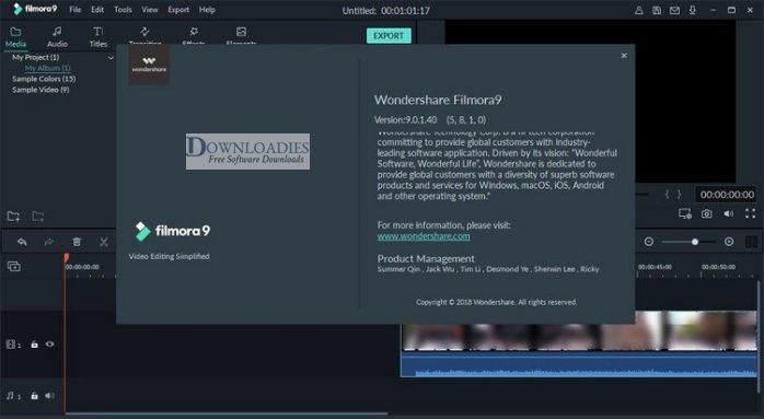 Wondershare-Filmora-9.1