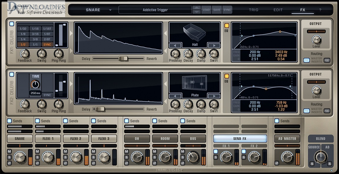 XLN Audio Addictive Trigger for Mac free download