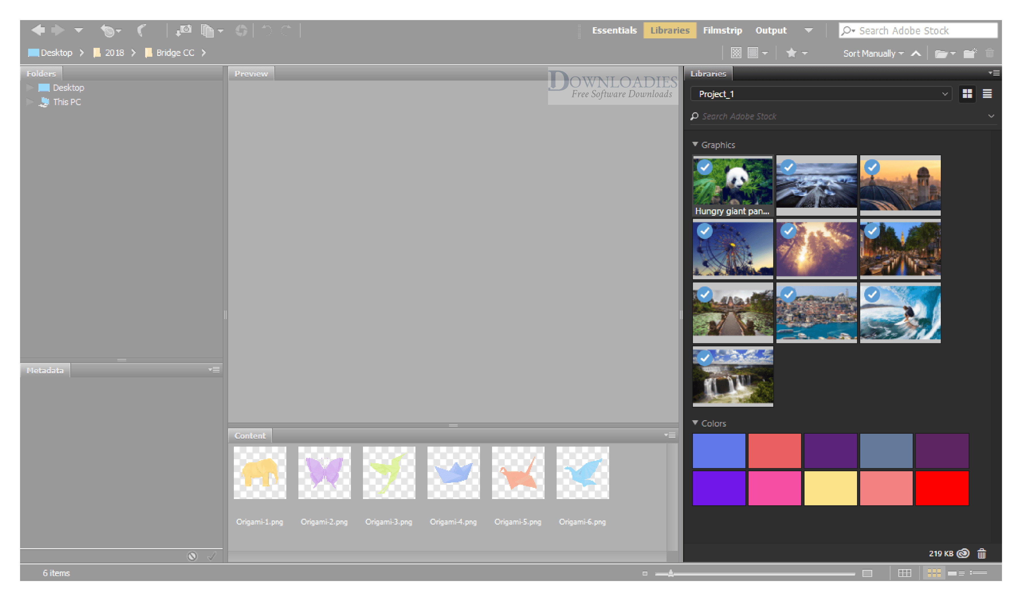 Adobe Bridge CC 2019 v9.1 for Mac Free Download free