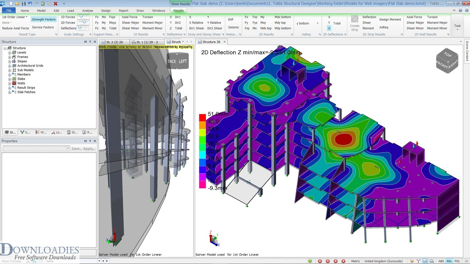 Download free Tekla Structural Designer 2019 SP2 v19.0