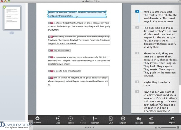 Prizmo Pro SCANNING & OCR 3.1 free download (1)