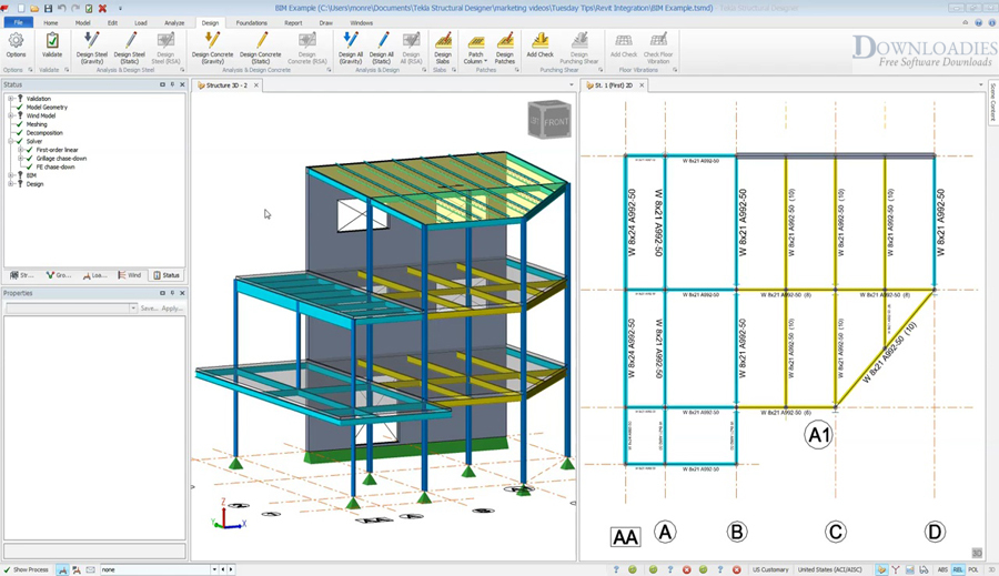 Tekla Structural Designer 2019 SP2 v19.0 download free