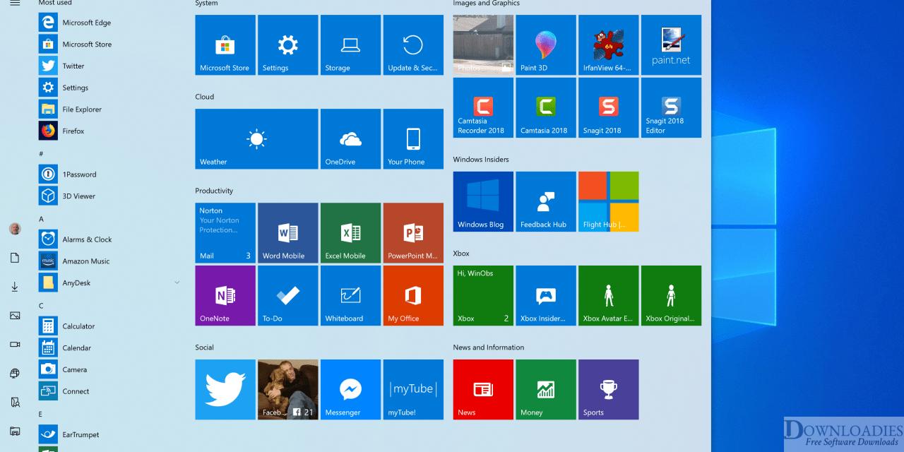 Windows 10 19H1 Lite Edition 2019 download free