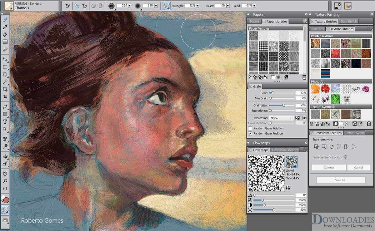 download Corel Painter 2020 v20.0 for Mac free