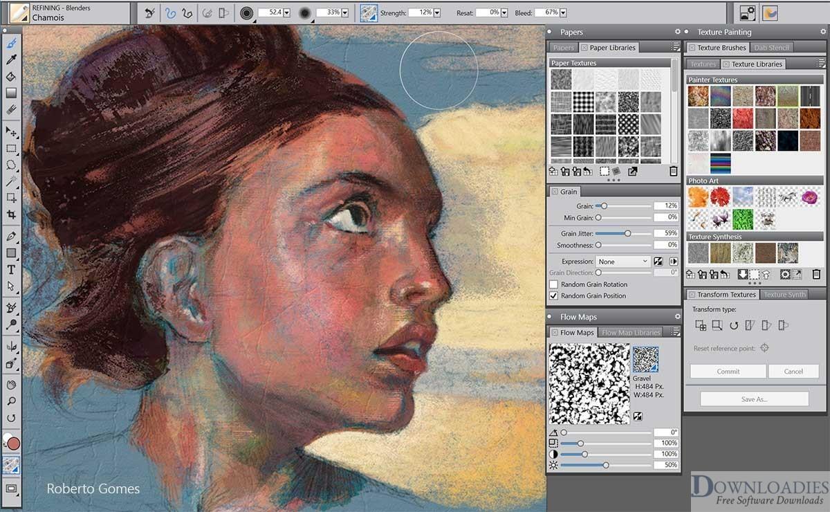 download Corel Painter 2020 v20.0 for Mac free