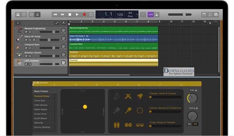 Apple-GarageBand-10.2-for-Mac-Free-Download