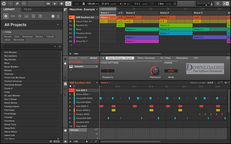 Native-Instrument-Maschine-2-v2.8-for-Mac-Direct-Download