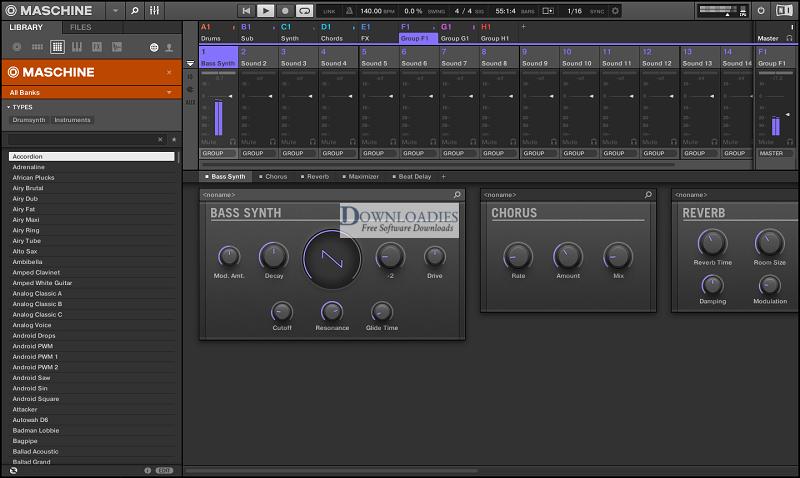 Native-Instrument-Maschine-2-v2.8-for-Mac-Free-Download