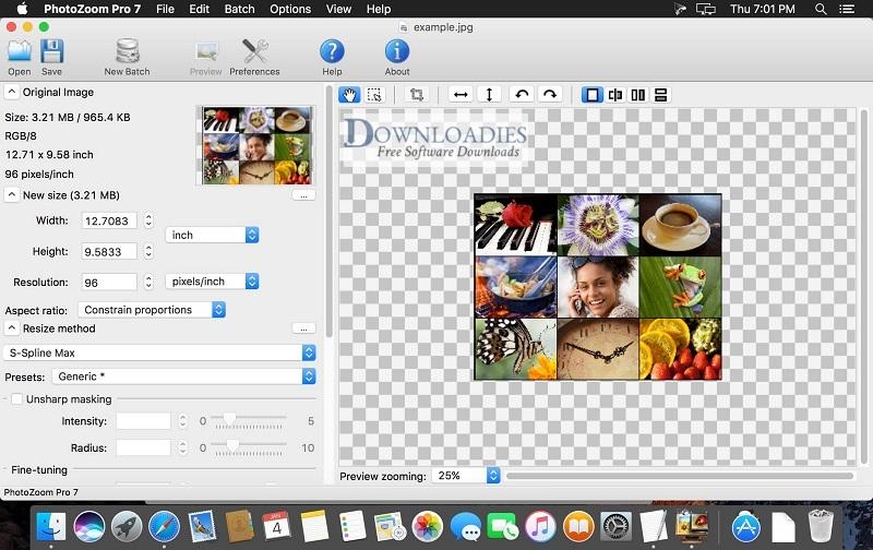 Benvista-PhotoZoom-Pro-7.1-for-Mac-Free-Download Downloadies.com