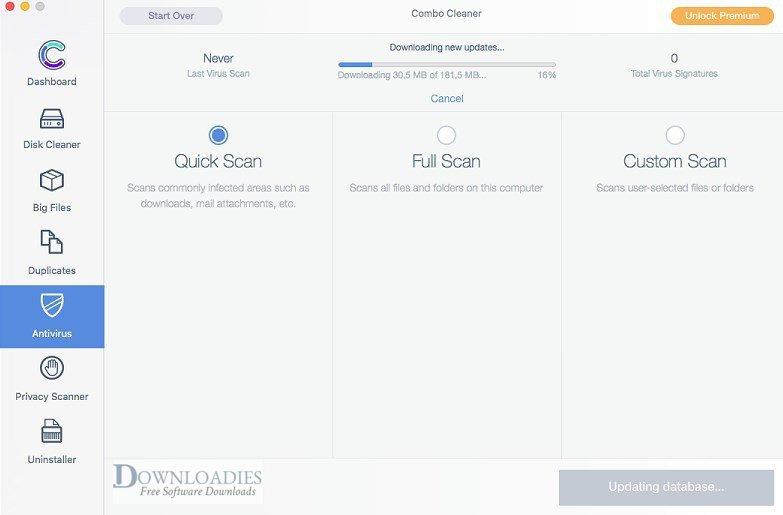 Combo Cleaner Antivirus Premium 1.1.5 for Mac downloadies downloadies