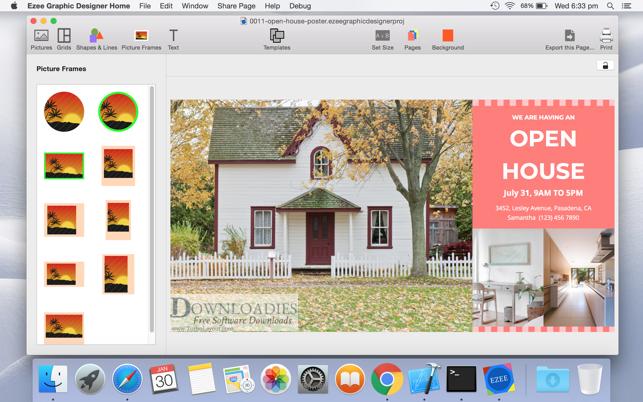 Download Ezee Graphic Designer 2.0 for Mac downloadies