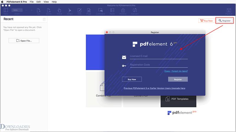 Download PDFelement 6 Professional for Mac free downloadies.com
