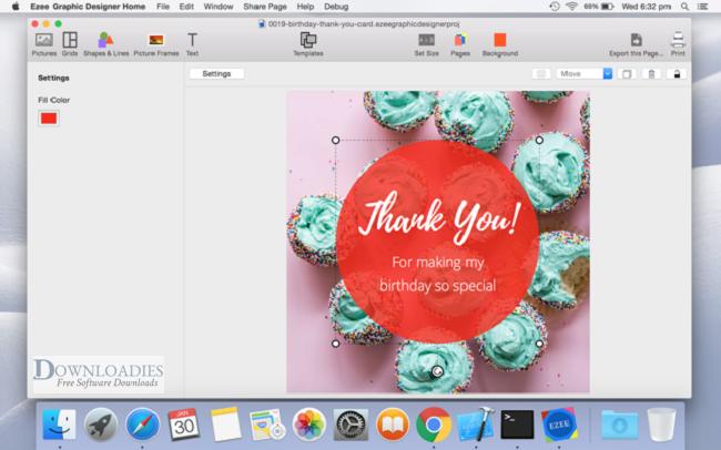 Free Ezee Graphic Designer 2.0 for Mac downloadies