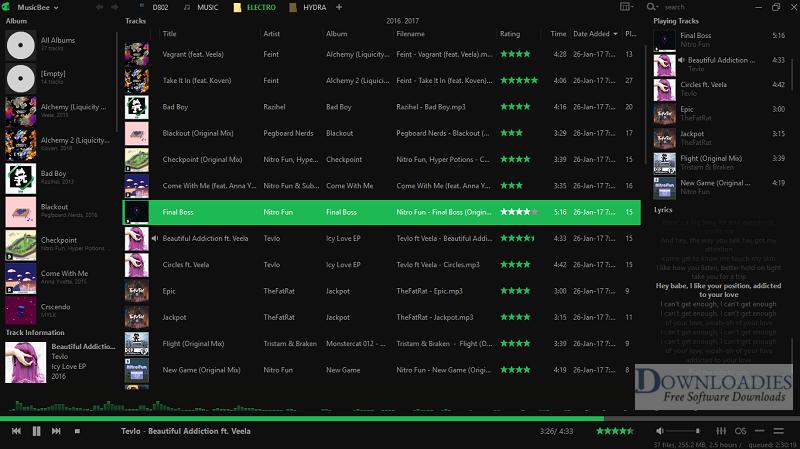 Portable-MusicBee-3.3-Free-Download Downloadies