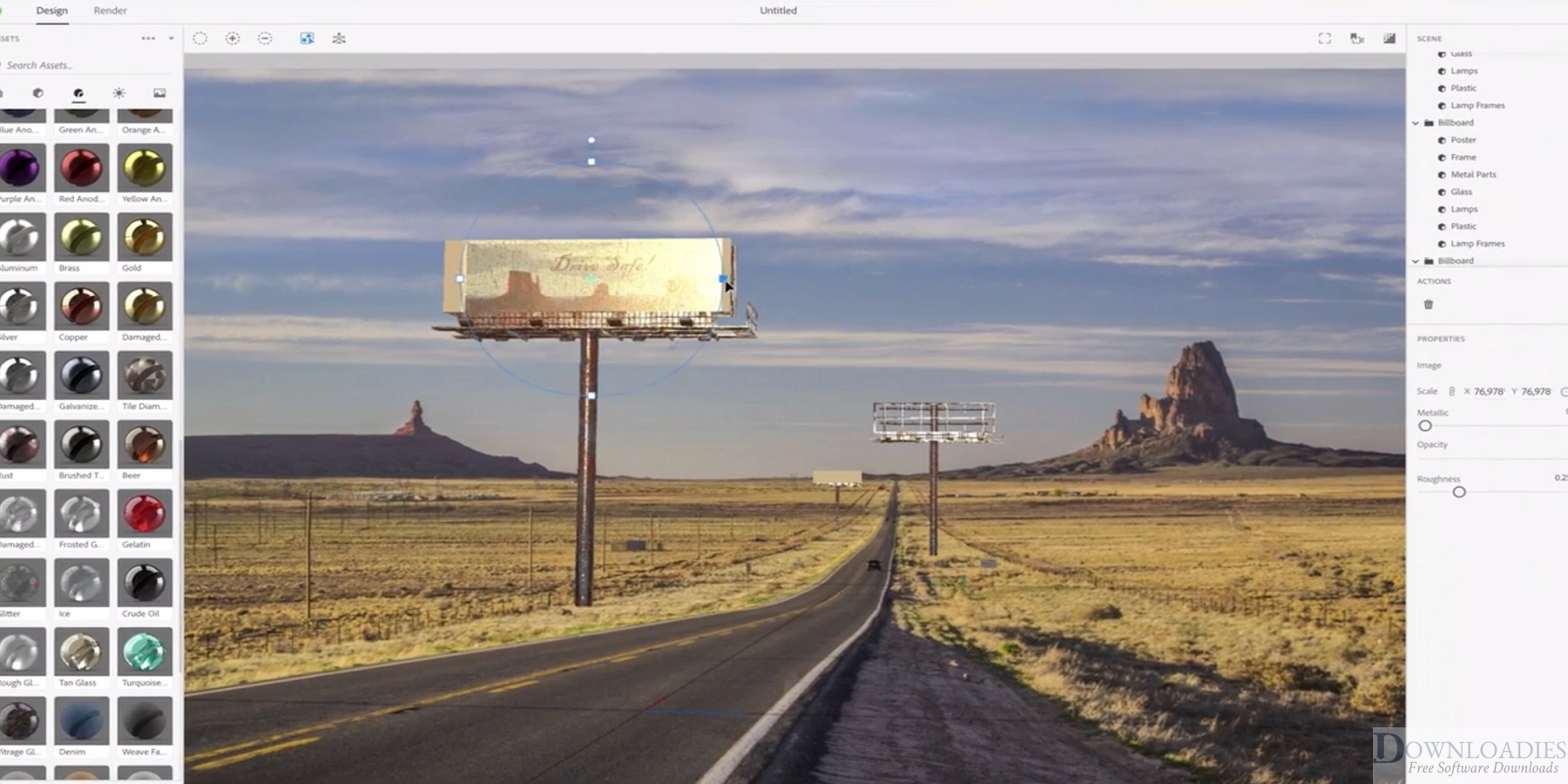 download Adobe Dimension CC 2019 v2.3 for Mac free downloadies