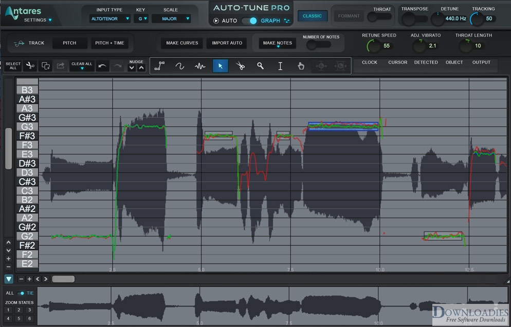 Free Download Auto-Tune Pro 8.1 for Mac Free downloadies