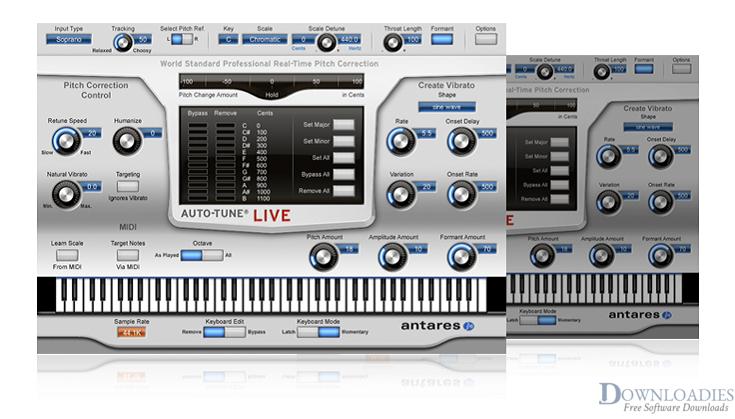 Download Auto-Tune Pro 8.1 for Mac Free downloadies