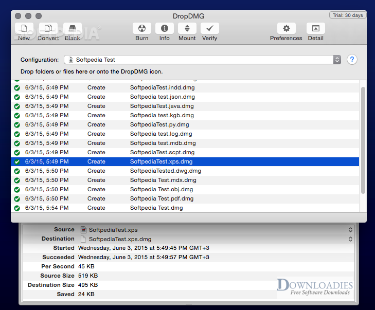 Download DropDMG 3.5 for Mac Free downloadies