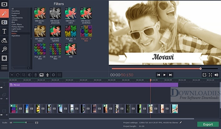 Download Free Movavi Video Editor Business 15.5 for Mac downloadies