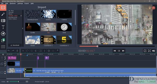 Download Movavi Video Editor Business 15.5 for Mac Free downloadies