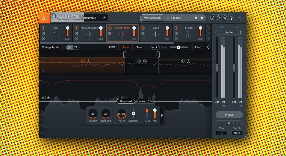 Download free iZotope Neutron 3 Advanced v3.10 for Mac downloadies
