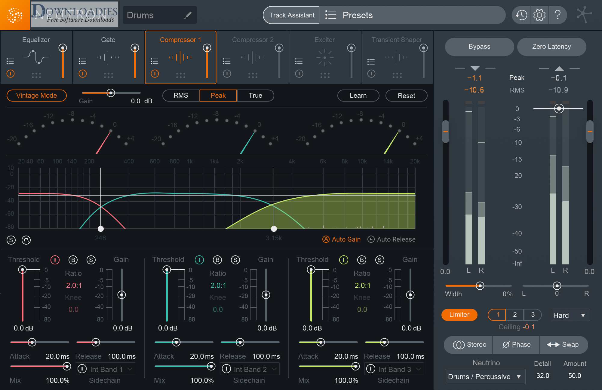 Download iZotope Neutron 3 Advanced v3.10 for Mac Free downloadies
