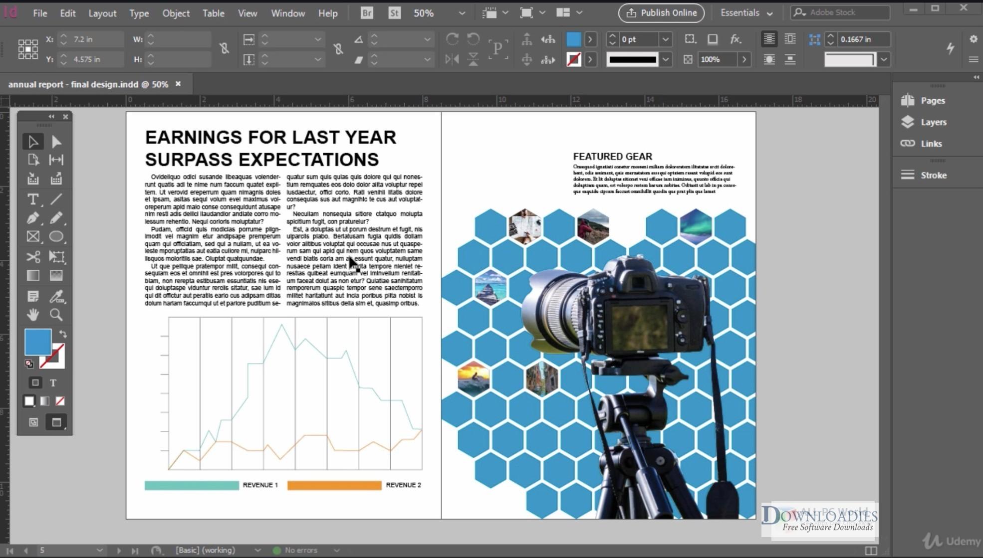 Free Download Adobe InDesign CC 2018 13.0 for Mac downloadies