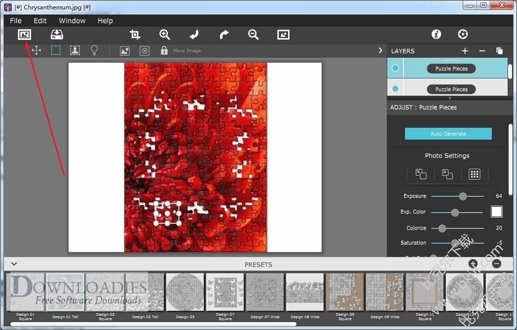Free Download JixiPix PuzziPix Pro 1.0.8 for Mac downloadies