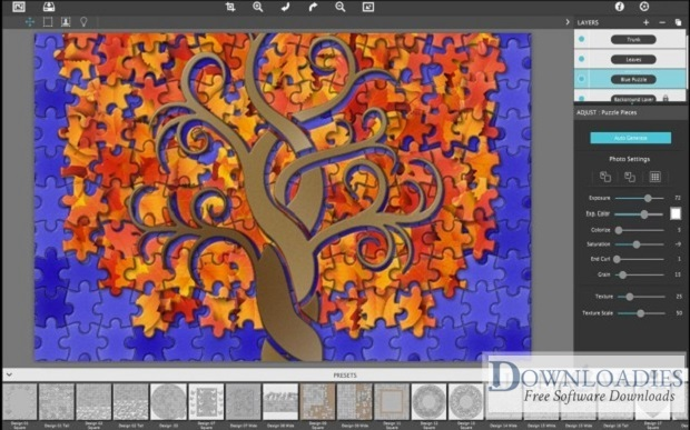 JixiPix PuzziPix Pro 1.0.8 for Mac Free Download downloadies