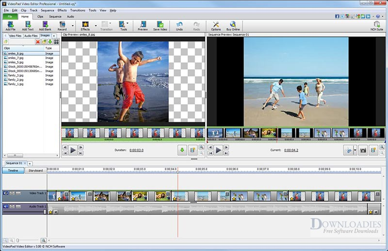 NCH VideoPad Pro 7.33 for Mac Free Download downloadies