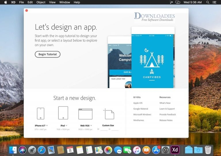 Adobe-XD-CC-2018-for-Mac-Direct-Link-Downloadies