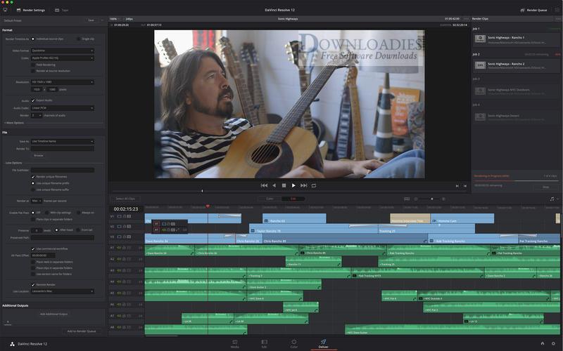 davinci resolve 12.5 free download for mac