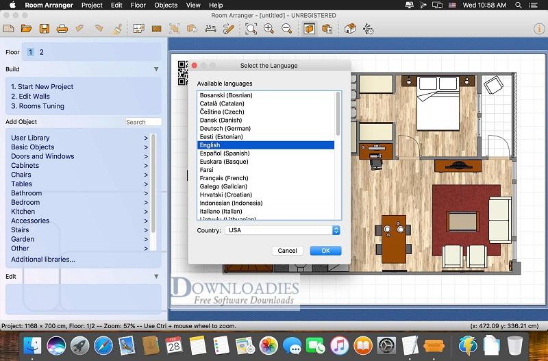 Room-Arranger-9.3-for-Mac-Downloadies