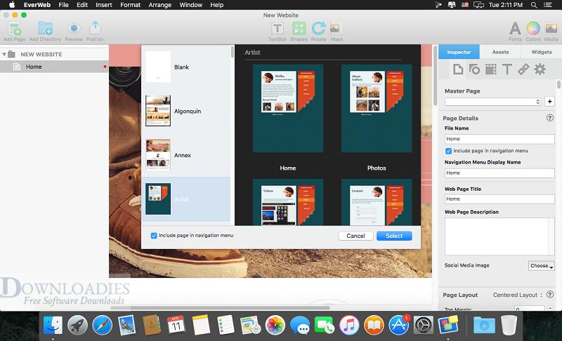 EverWeb-3.1.5-for-Mac-Free-Downloadies