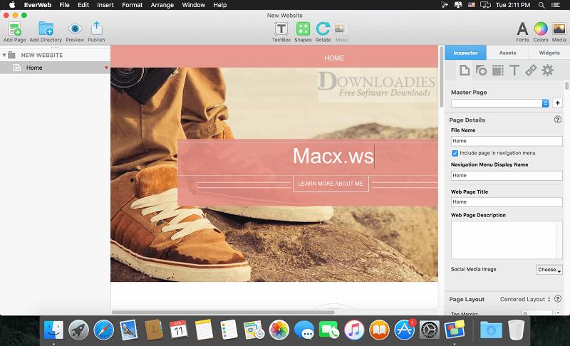 EverWeb-3.1.5-for-Mac-Downloadies