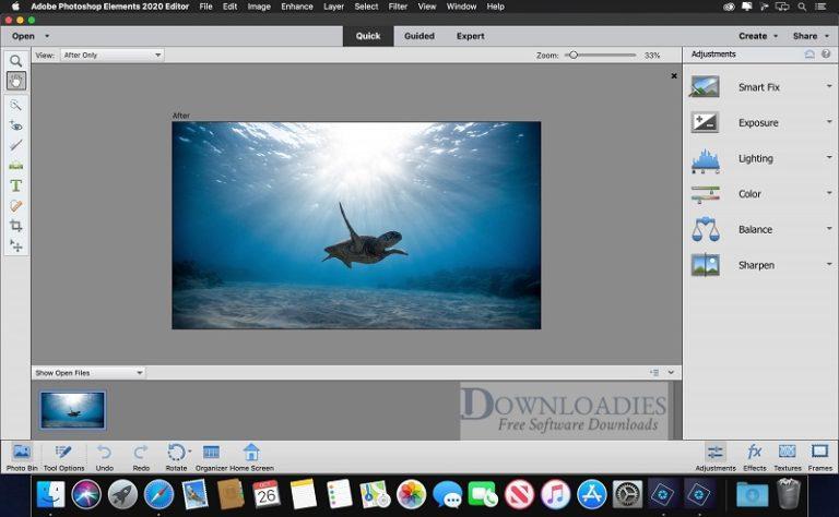 Adobe-Photoshop-Element-2020.1 18.1.0.479-for-Mac-Free-Downloadies