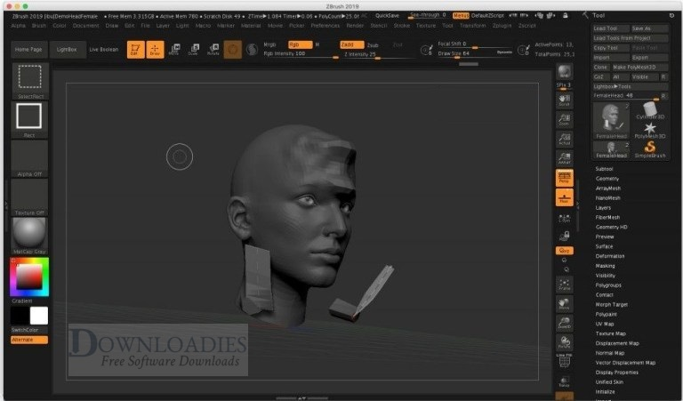 Pixologic-ZBrush-2019-for-Mac-Downloadies