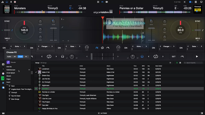 Algoriddim-djay-Pro-2.1.4-Complete-FX-Pack-for-Mac-Free-Download-Downloadies