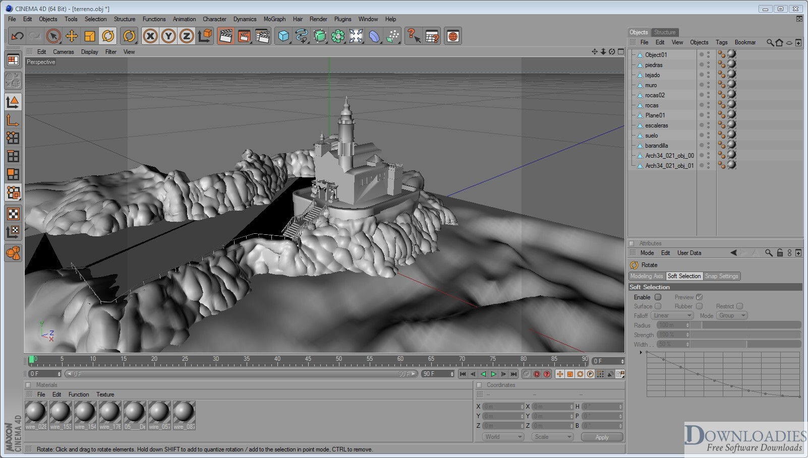 Download RealFlow Cinema 4D 2.0.1 for Mac Free