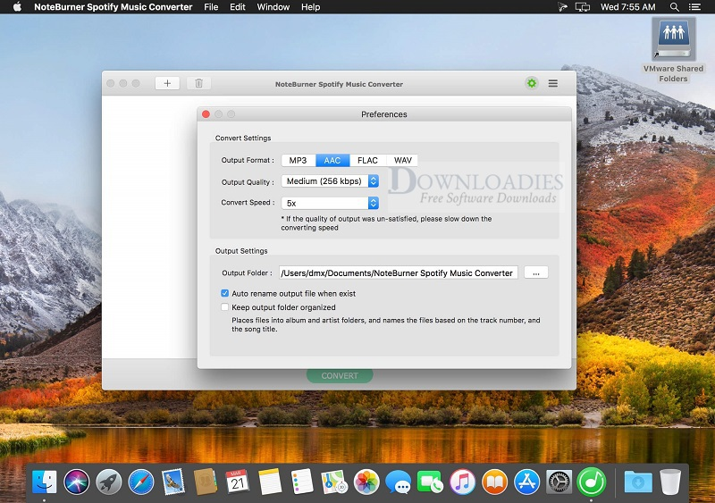 NoteBurner-Spotify-Music-Converter-v1.1.9-for-Mac-Free