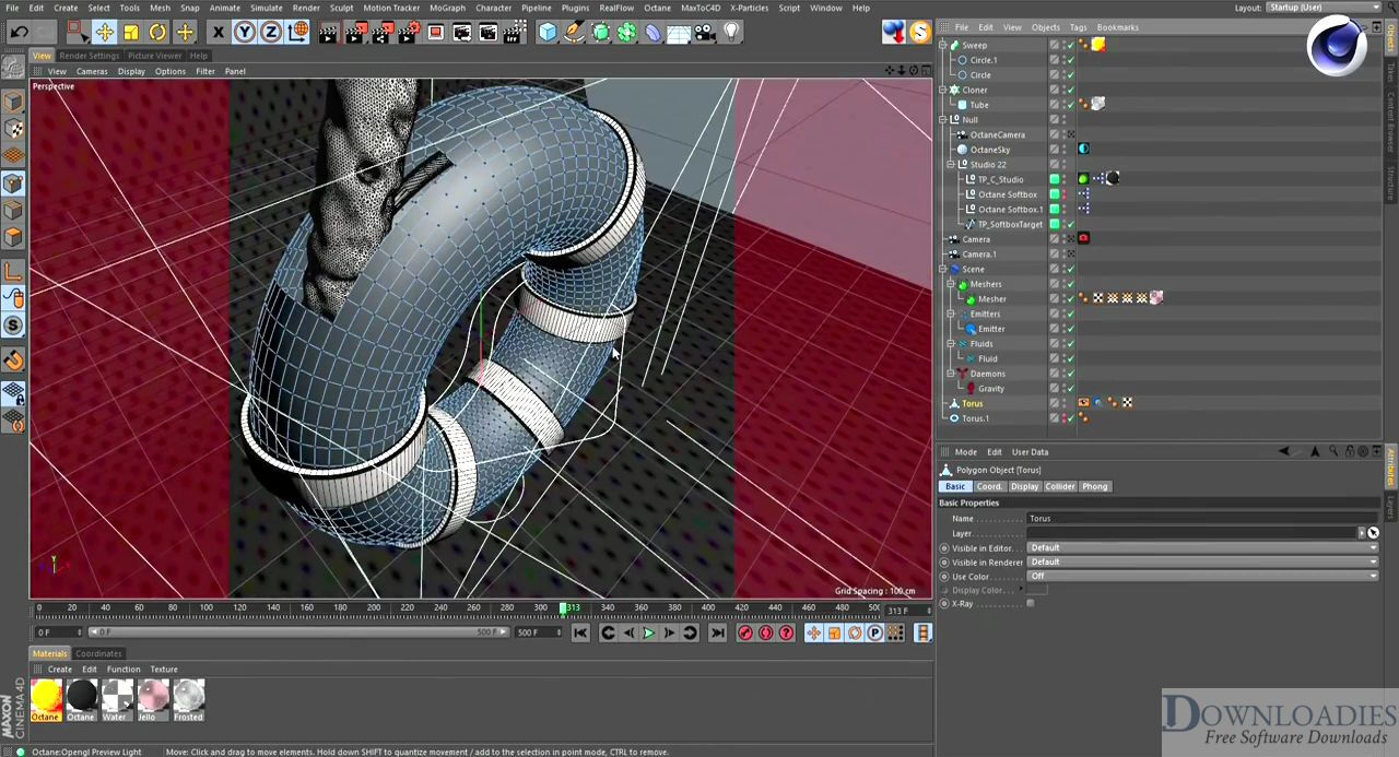 RealFlow Cinema 4D 2.0.1 for Mac Free Download for 4D designing