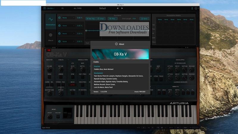 Arturia-OB-Xa-Vv1.0.0-for-Mac-Free-Downloadies