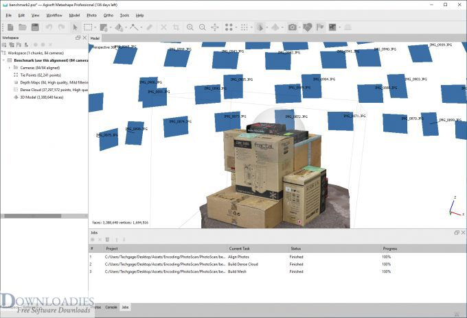 Free Download Agisoft Photoscan Professional for Mac