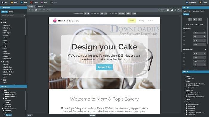 Bootstrap-Studio-5.1.1-for-Mac-Free-Download-Downloadies