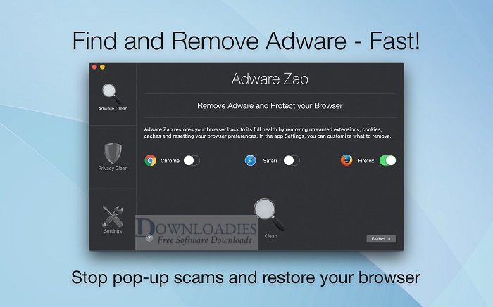 Adware-Zap-Browser-Cleaner-v2.8-for-Mac-Free-Downloadies