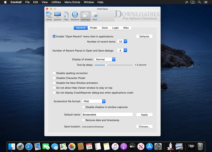 Cocktail-Catalina-Edition-v13.2.5-for-Mac-Free