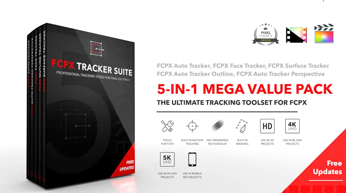 Pixel Film Studios – FCPX Tracker Suite for Mac Free Download