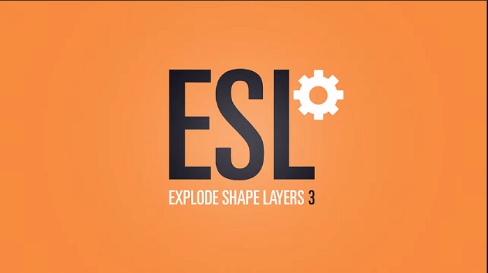 Explode Shape Layers 3.5.1 for After Effects free download